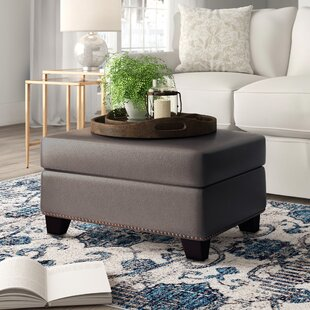 wendy leather ottoman